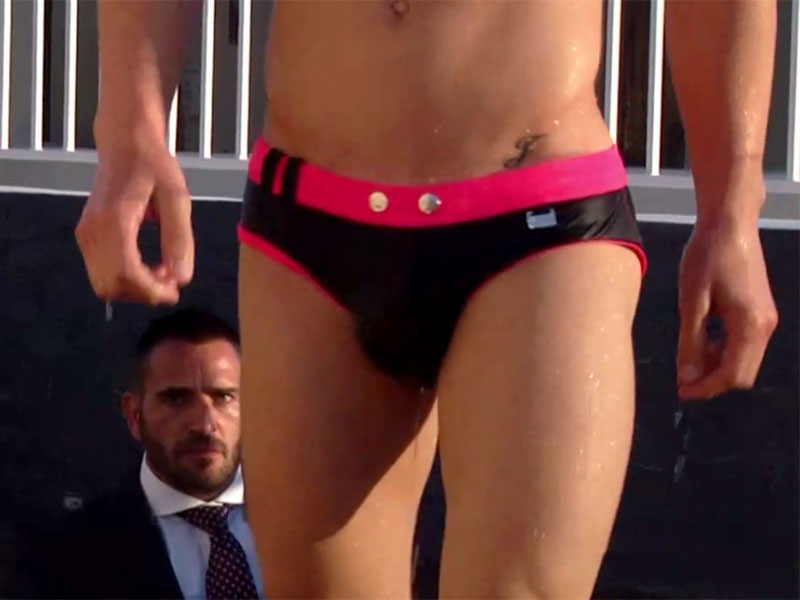 Speedo Boy/Man in Suit
