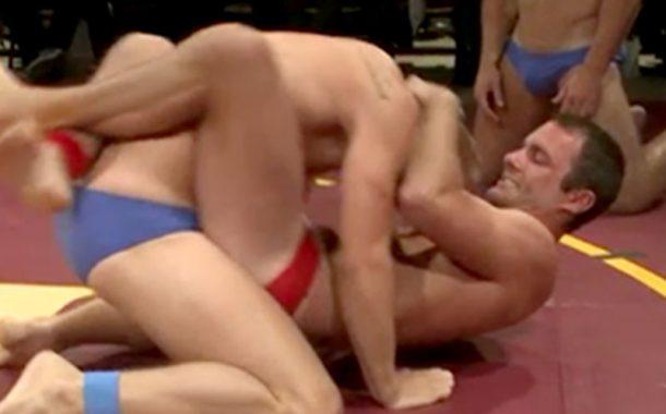 Public Speedo Wrestling